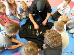 pomysł na urodziny dla dzieci Ninja odwiedza Szczecin
